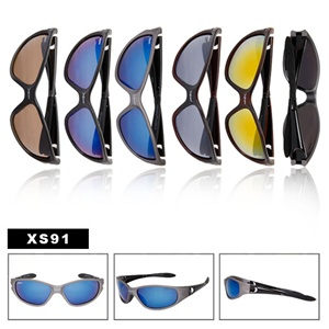 Wholesale Mens Sunglasses comes in pre-assorted dozens.