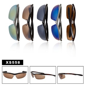 Look sporty sunglasses at wholesale prices.