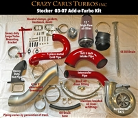 Crazy Carls Turbos 03-07 STOCK 2/3 Twin Turbo Kit w/472