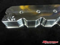 24 Valve Billet Valve Cover, 1998.5 -2002 fits Cummins