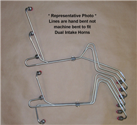 12V Fuel Lines for Dual Ram Intake