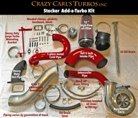Crazy Carls Turbos 94-98 Stock 2/3 Twin Turbo Kit w/472