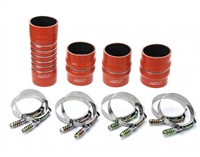 HPS High Temp Aramid Silicone Intercooler Hose Boots Kit Dodge 03-07 Ram Pickup 5.9L Cummins Diesel