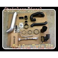 S300/S400 Twin Piping Kit '03-'12 5.9/6.7