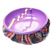 Plaid Bean Bag Ashtray