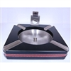 Cigar Ashtray with Guillotine Cutter: Ebony Finish