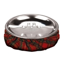 Plaid Sandbag Ashtray | Cigar and Wine Stuff.com