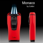 Monaco Lighter by Colibri - Triple Jet Flame