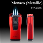 Monaco Lighter by Colibri - Metallic Finish