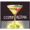 Cosmopolitan Cocktail Napkins by Mary Naylor,