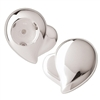 Silver Plated Heart Shaped Foil Cutter