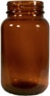 30cc -950cc Amber Wide Mouth Bottles