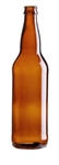 22oz. Glass Amber Long Neck Bottles 12 Pack
