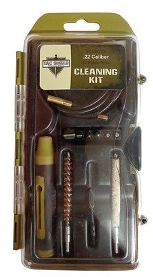 TAC SHIELD .22 Caliber Cleaning Kit (12-Piece)