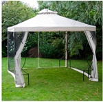 Canopy top with net
