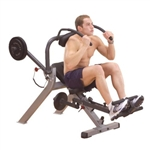 Body-Solid Semi-Recumbent Ab Fitness Bench