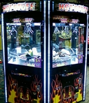 Six Player Rotating Crane Machine Game