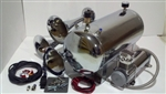 5 Gallon Train Horn Kit w/ Three Horns & Chrome Finish