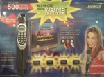 High Quality Leadsinger Karaoke Magic Sing Microphone 500 Song