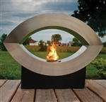 Ellipse of Fire Ethanol Biofuel Ventless Fireplace