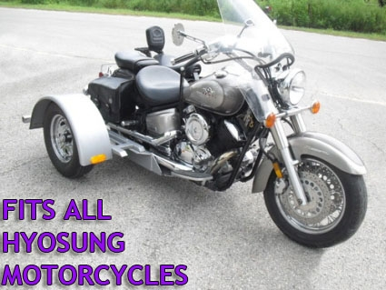 Motorcycle trike kit fits all models hyosung motorcycle trike kit fits all models solutioingenieria Choice Image