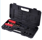 "High Quality PEX Crimp Tools Kit for 5 Sizes 3/8"" 1/2"" 5/8"" 3/4"" 1"""