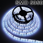 3x5M 5050 SMD 300 LED Cool White Strip Light+Remote Control