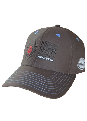 Classic Hat - Velcro Back - Brown