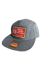 5 Panel hat with Scribble patch