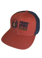 Trucker Hat - Orange / Navy