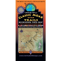 Moab Classic Trails Map