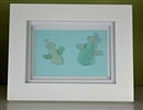 7in x 9in frame 2 angels scene