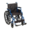 "Drive Medical Blue Streak Wheelchair 20"" Seat"