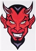 Angry Hot Rod Devil Full color Graphic Window Decal Sticker