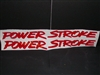Ford Power Stroke Diesel Windshield Decal