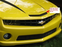 Yellow Camaro w/  Ram Air Nose Vent Decal