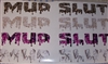 MUD SLUT Real Tree M4 camo  Muddy girl Cracked Mud Rebel Flag Full color Graphic Window Decal