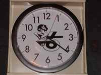 "11.5"" Round CUSTOM CLOCKS! W/ Your choice of Girl Rides Logos You pick the logo color!"