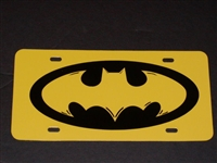 BATMAN Vanity Plate - Custom Colors