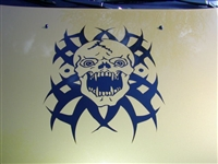 Tribal/Gothic Skull Hood Graphic #3