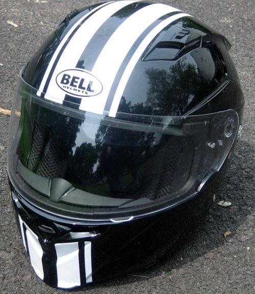 Motorcycle Vinyl Stripe Helmet Graphic Decal Set Stripes Decals - Custom graphic vinyl decals for motorcycle helmets