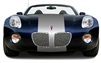"Pontiac Solstice w/ 24"" Rally Stripes"