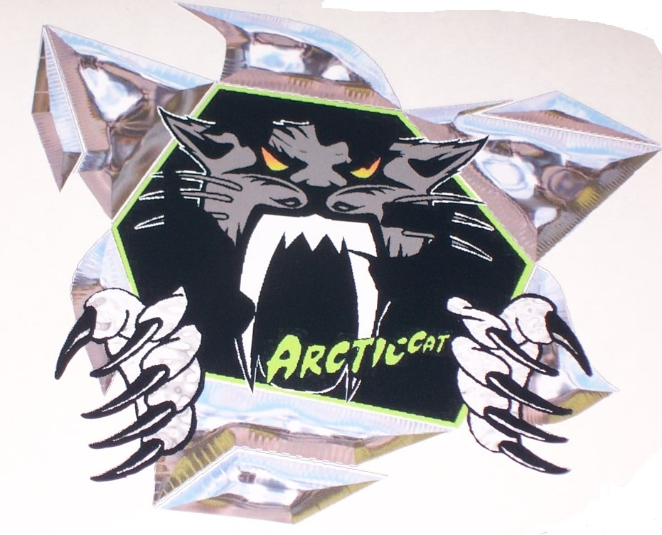 Arctic Cat Snowmobile Helmet Graphics