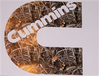 Cummins C M4 Real Tree Camo Decal Sticker