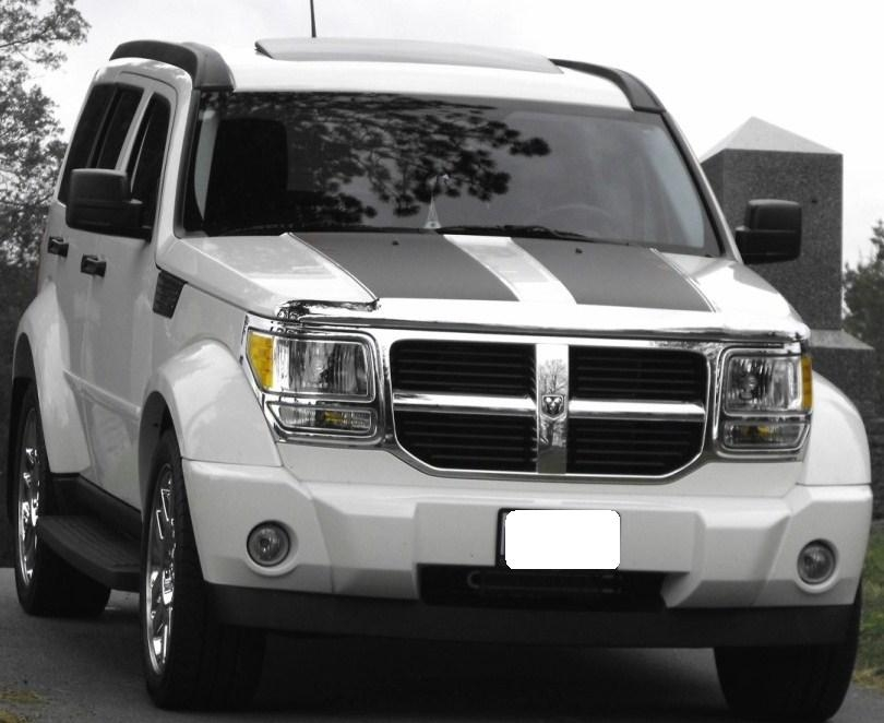Dodge Nitro Hood Rally Stripe Set - Truck bed decals customat superb graphics we specialize in custom decalsgraphics and