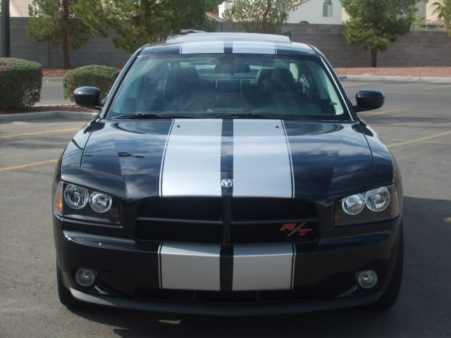 Dodge Magnum Charger Rally Stripes 10 Twin