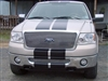 "Gray Ford Truck w/ 11"" Rally Stripes"