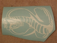 COBRA Rear window Decal