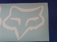 Fox Racing Head decal
