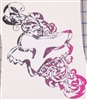 Fox Racing PINK Tribal Head Decal